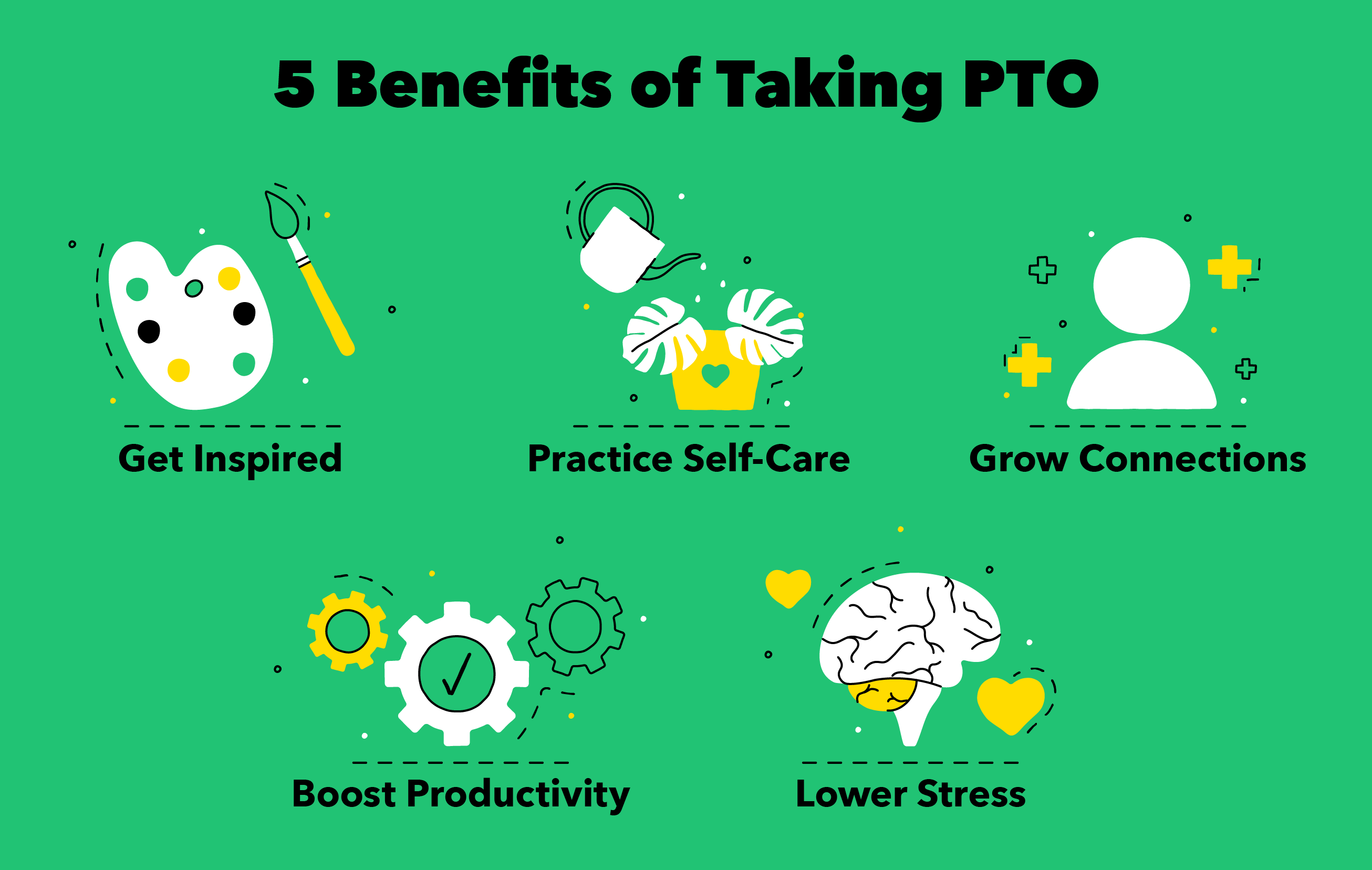 benefits of taking pto illustration