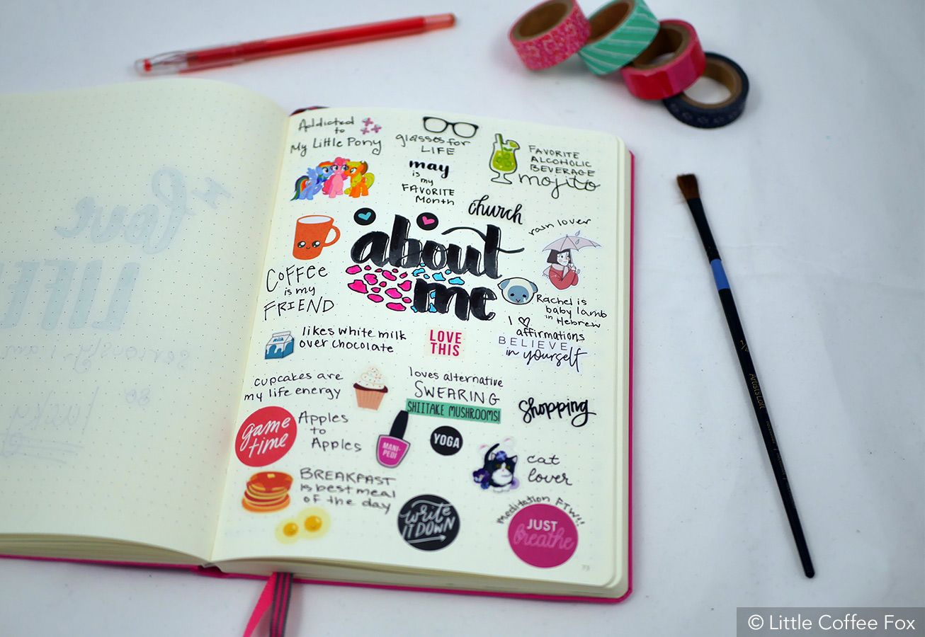 Bullet journal idea #8