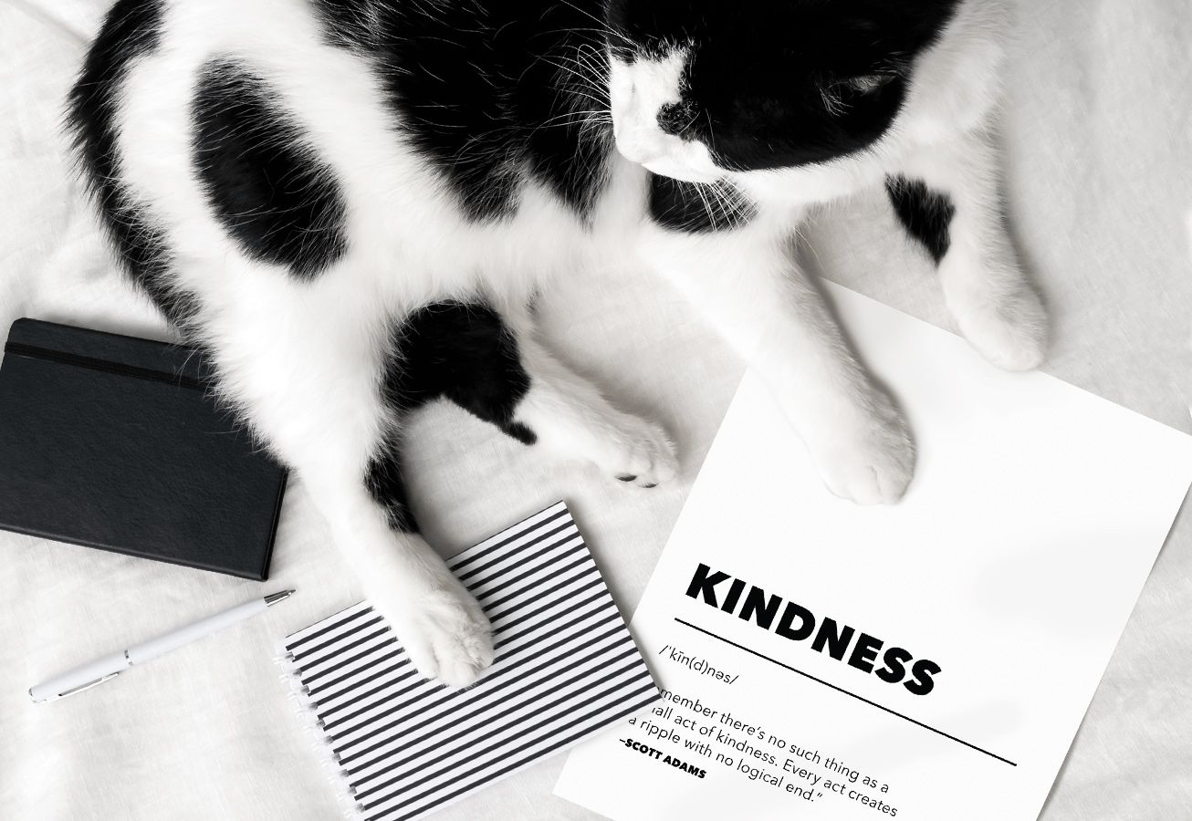 In-Post Decorative Kindness Printables