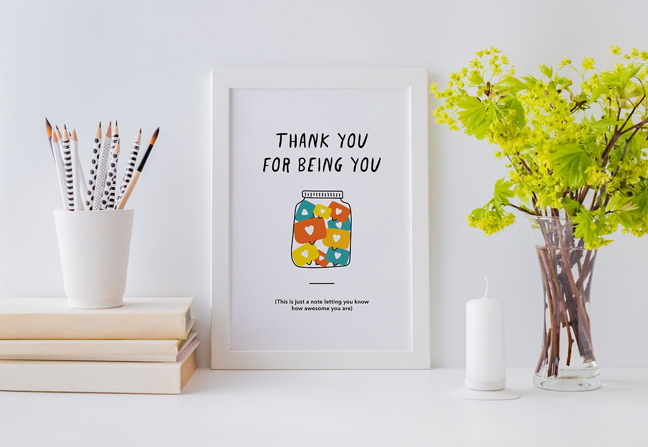 In-Post Thank You Printable