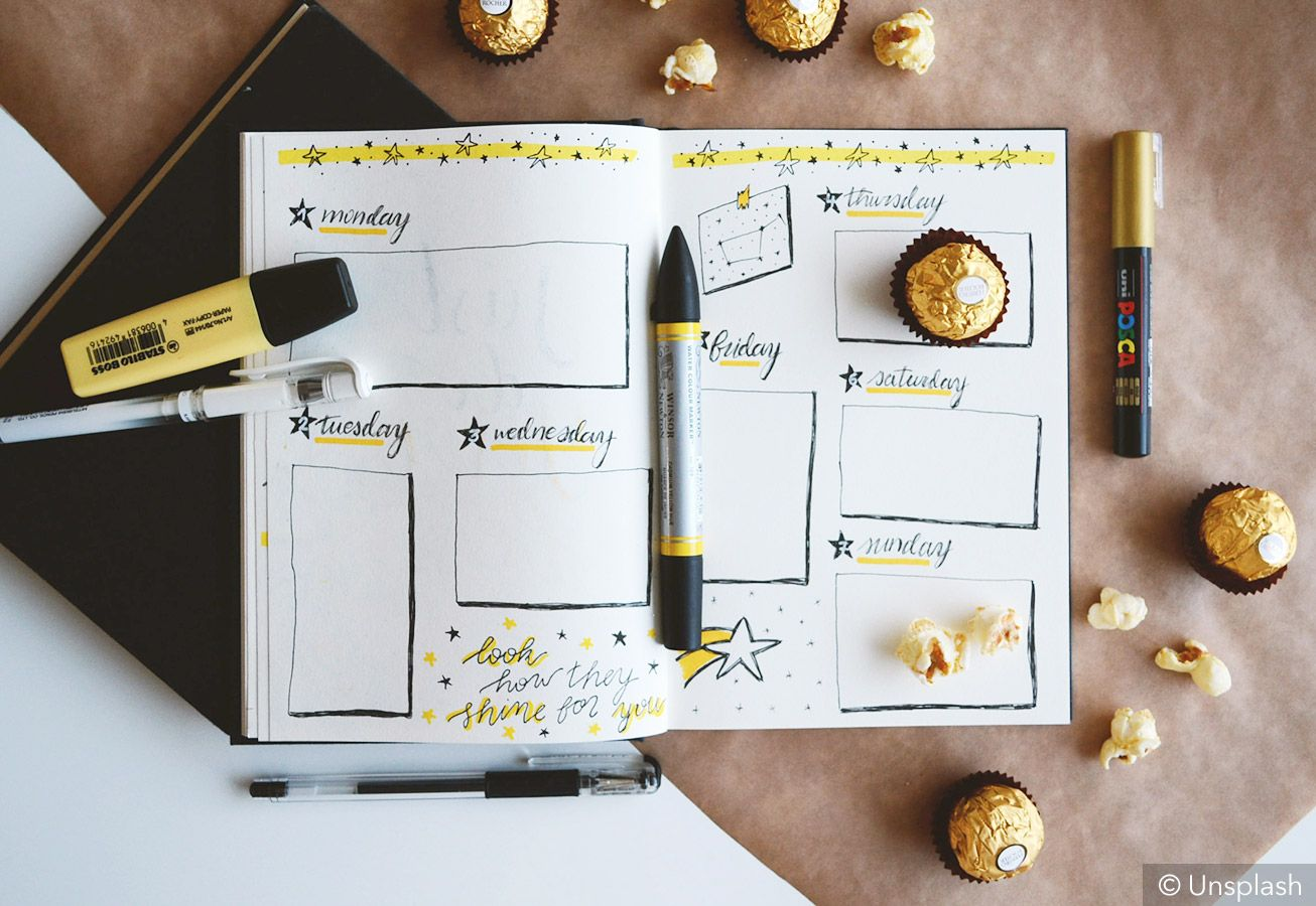 Bullet journal idea #14