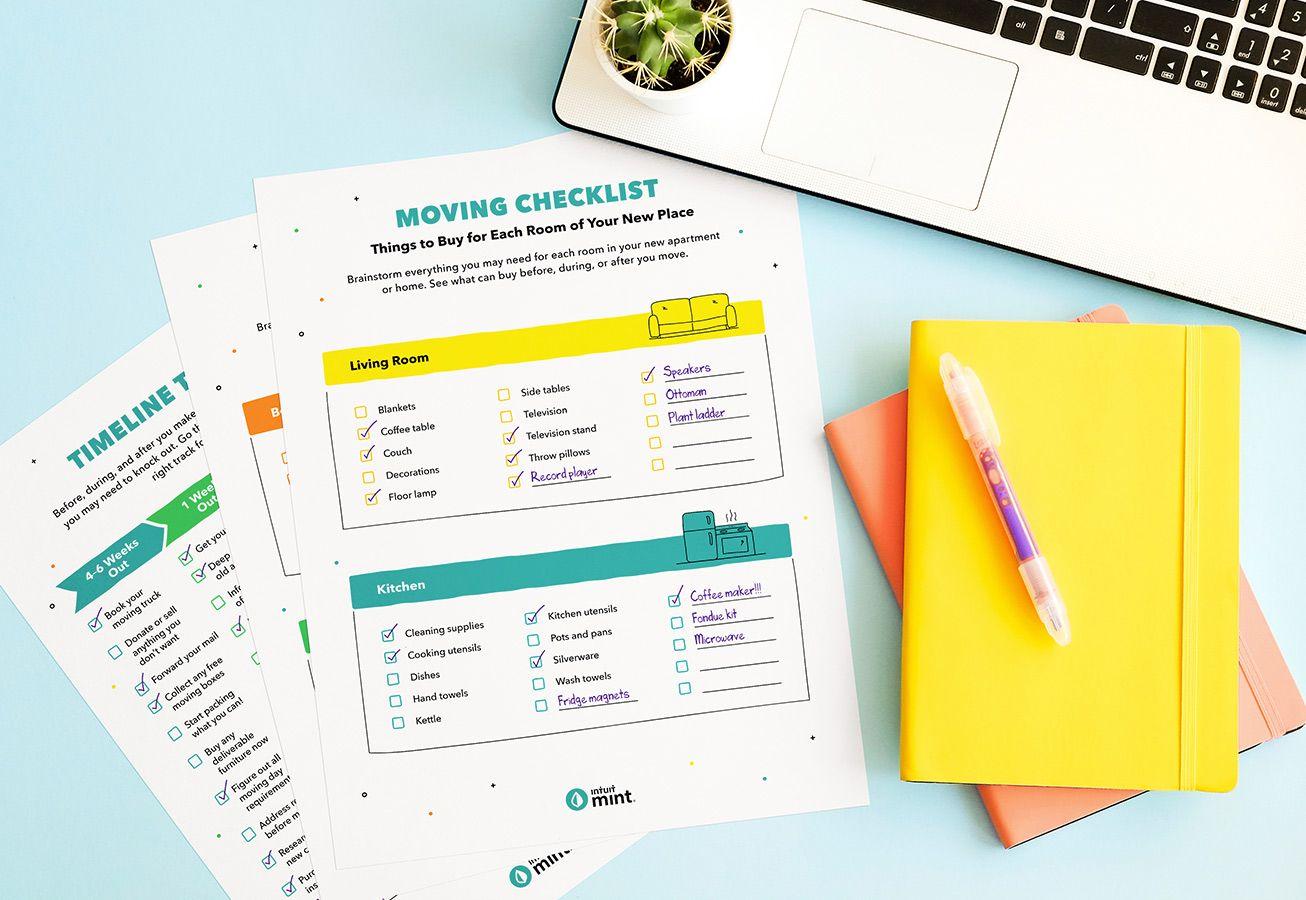 Moving Checklist Mockup