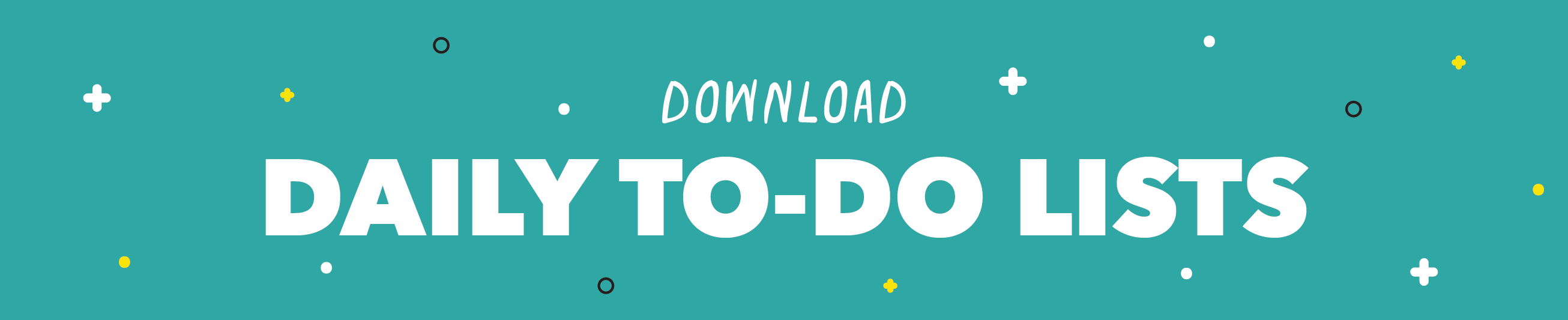 Download Daily To-Do List Printables