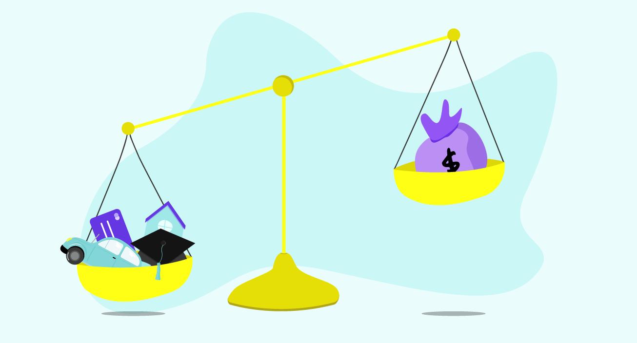 debt to income scale