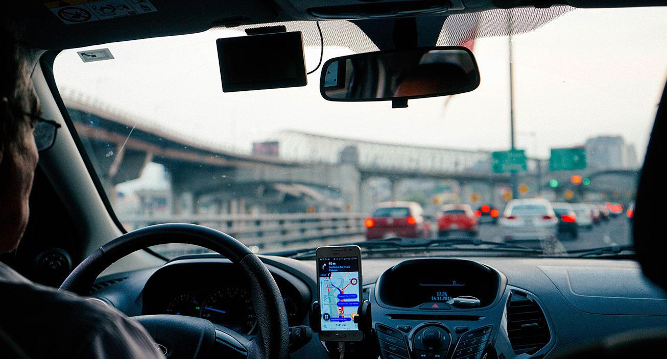 driving uber or lyft