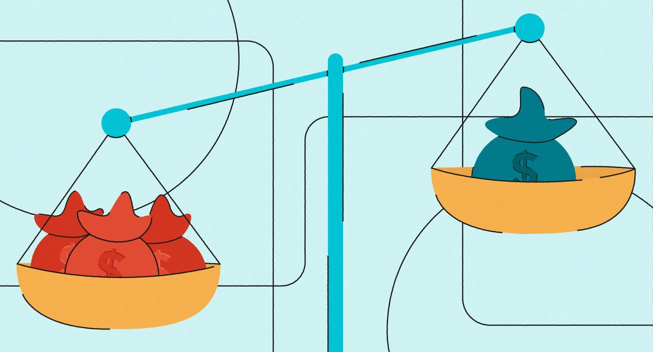 unbalanced-scale-illustration