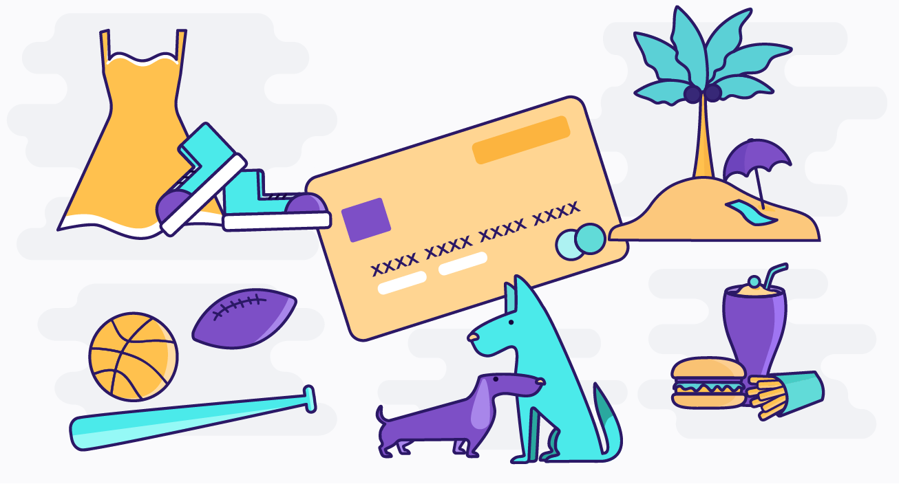 illustrated benefits of using a credit card