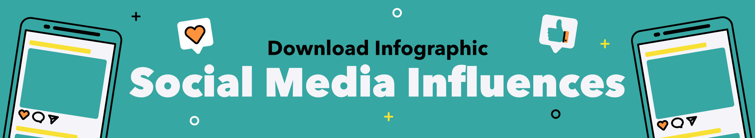 View the Social Media Influences infographic