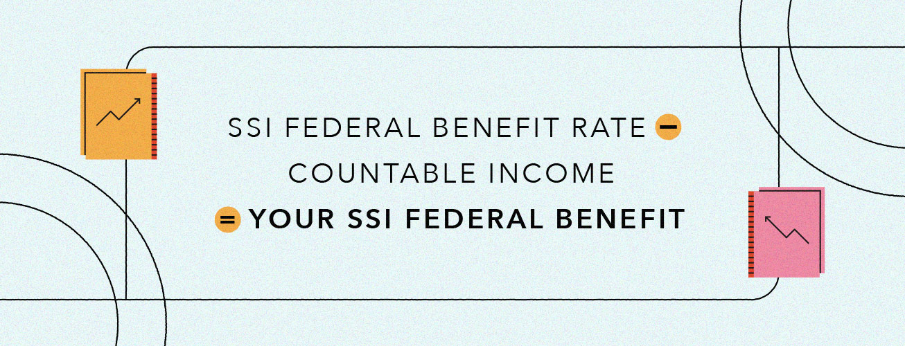 ssi federal benefit rate minus countable income equals your ssi federal benefit