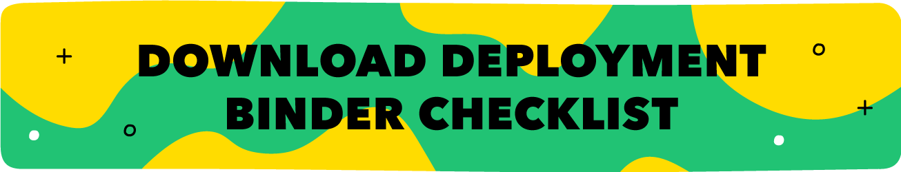 Illustrated button to download our printable deployment folder checklist.