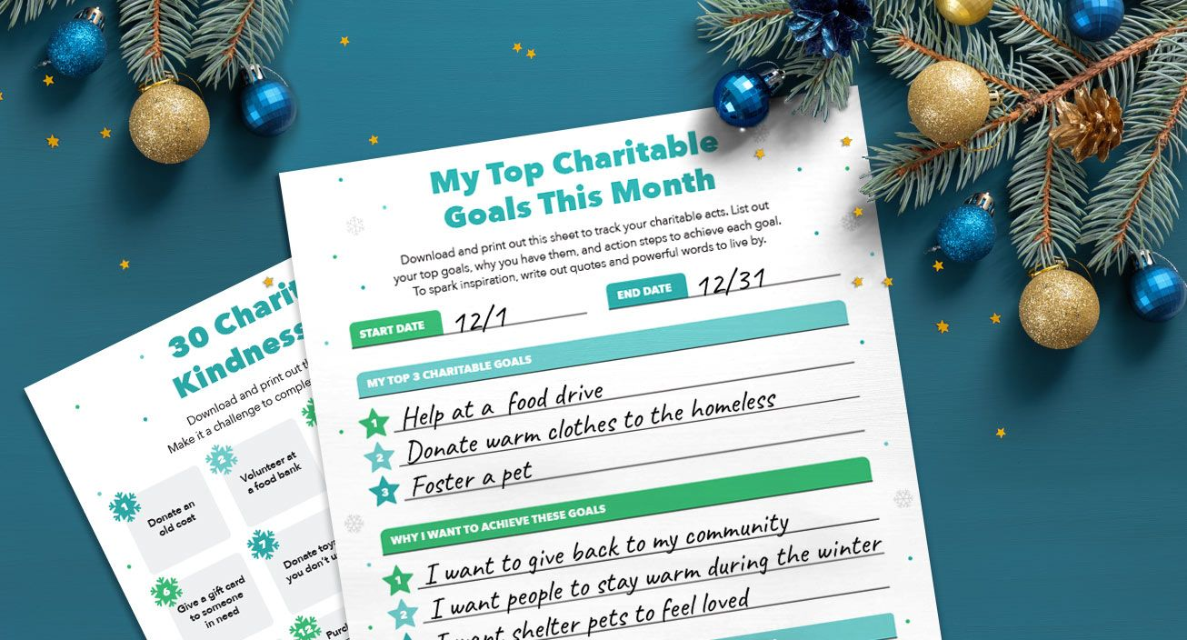 Printable - Encourage Others to Give Back