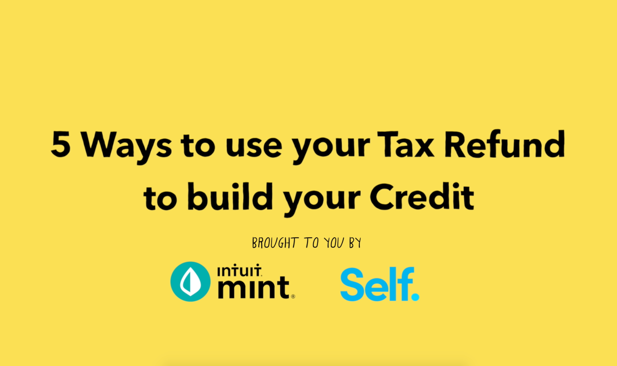 Title: 5 Ways to use your tax refund to build your credit