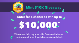 Mint $10K Giveaway – earn a chance to get your expenses covered!