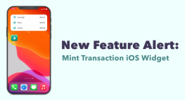 NEW Mint Feature Highlight: Transaction Widget on iOS