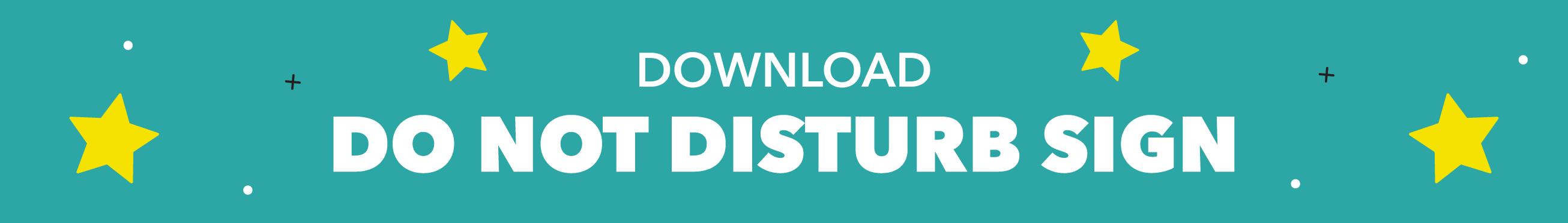 do-not-disturb-button