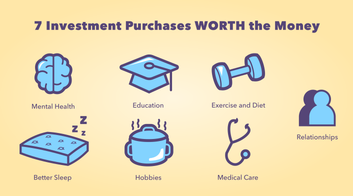 7 Investment purchases worth the money