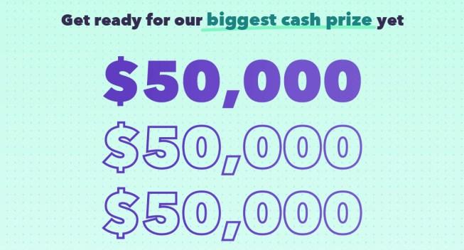 Mint $50K Giveaway
