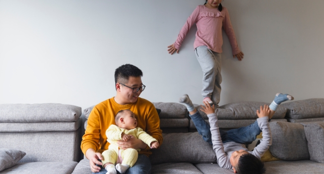 money advice for stay at home parents