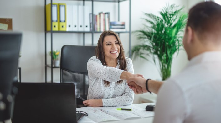 woman-interviewing-job-candidate-in-office