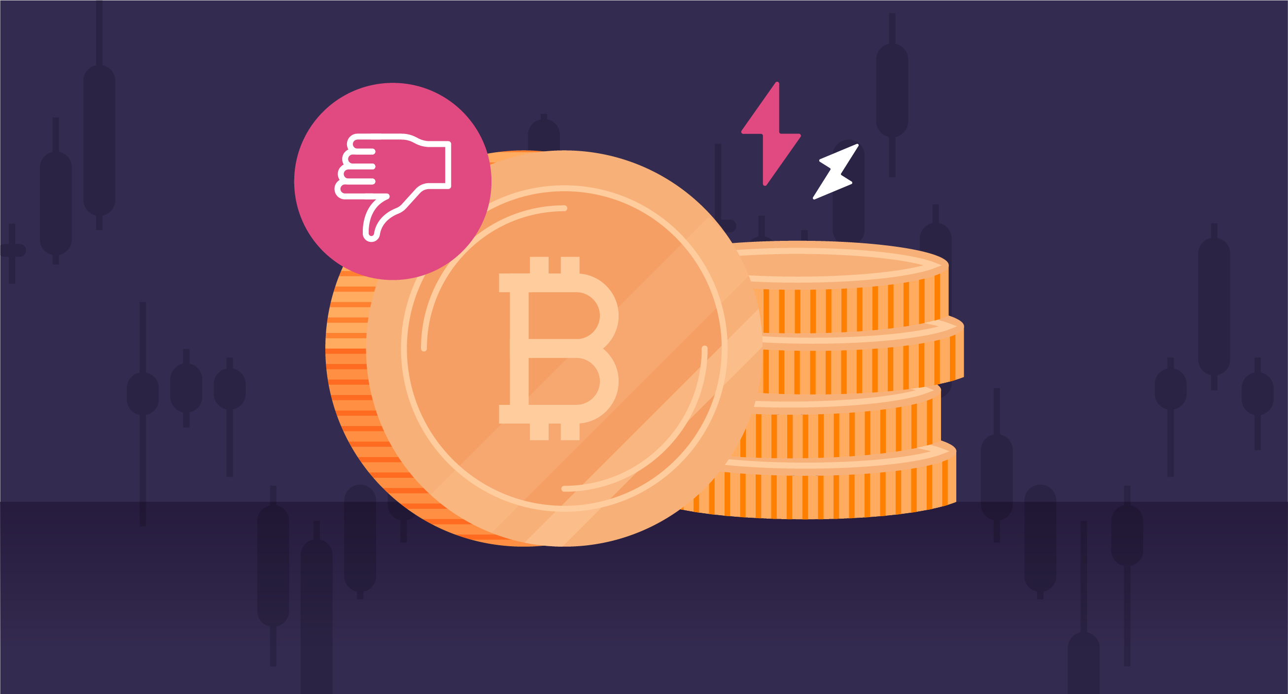 """cons-of-bitcoin-2x """"width ="""" 2613 """"height ="""" 1409 """"srcset ="""" https://blog.mint.com/wp-content/uploads/2021/10/cons-of-bitcoin-2x.png 2613w, https://blog.mint.com/wp-content/uploads/2021/10/cons-of-bitcoin-2x.png?resize=768.414 768w, https://blog.mint.com/wp-content /uploads/2021/10/cons-of-bitcoin-2x.png?resize=1536.828 1536w, https://blog.mint.com/wp-content/uploads/2021/10/cons-of-bitcoin- 2x. png? resize = 2048.1104 2048w, https://blog.mint.com/wp-content/uploads/2021/10/cons-of-bitcoin-2x.png?resize=324.175 324w, https: // blog. mint.com/wp-content/uploads/2021/10/cons-of-bitcoin-2x.png?resize=960,518 960w, https://blog.mint.com/wp-content/uploads/2021/10 / cons -of-bitcoin-2x.png? resize = 880.475 880w, https://blog.mint.com/wp-content/uploads/2021/10/cons-of-bitcoin-2x.png?resize=1000, 539 1000w , https://blog.mint.com/wp-content/uploads/2021/10/cons-of-bitcoin-2x.png?resize=647.349 647w, https://blog.mint.com/wp- content / uploads / 2021/10 / cons-of-bitcoin-2x.png? resize = 592.319 592w """"size ="""" (max-width : 261 3px) 100vw, 2613px """"/></p> <h2>Disadvantages of Bitcoin</h2> <p>Despite its rapid growth and increasing number of users, there are some drawbacks to Bitcoin to be aware of, especially if you are wondering """"Is it worth investing in Bitcoin?"""" As with many financial decisions, the more you know, the more informed you can decide whether it is worth investing in Bitcoin.</p> <h3><strong>5. volatility</strong></h3> <p>When Bitcoin was created by Satoshi Nakamoto, it set a limit of 21 million bitcoins that could ever exist, which means it is absolutely in short supply. This scarcity is what makes Bitcoin so valuable, but it also causes its prices to vary drastically, which can be seen as one of the downsides of Bitcoin.</p> <p>Another reason for this price volatility is that there is no physical commodity such as paper money that can be printed when there is greater demand. This rapid price spike can make it a risky investment and create confusion with the """
